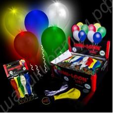 Светящиеся шары диаметром 40 см, в упаковках по 5-20 шт.