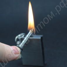 Вечная бензиновая спичка-зажигалка (огниво) в виде брелока