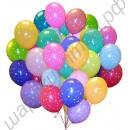Воздушные шары с гелием диаметром 30 см