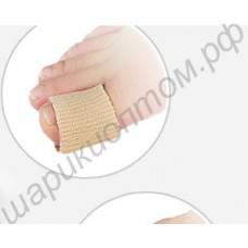 Тканево-гелевое кольцо на палец с силиконовой защитой косточки, 1 пара