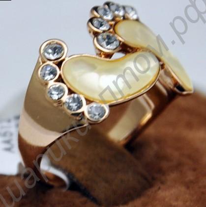Золотое кольцо ножка младенца фото
