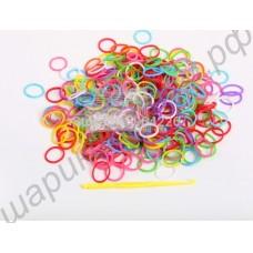Набор дополнительных резиночек для плетения loom bands (300 штук)