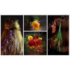 Светящиеся волосы (волосы led)