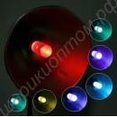 Цветная LED лампа