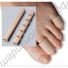 Трубочка силикогелевая с покрытием из спандекса для пальцев