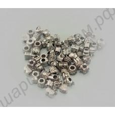 Уникальные шармы для браслетов типа пандора (в комплекте 60 шт.)