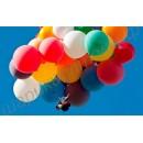 Большие воздушные шары, наполненные гелием