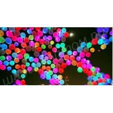 Салют (запуск) из светящихся шаров, наполненных гелием, с доставкой