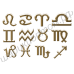 Кошелёк с изображением знака Зодиака Телец