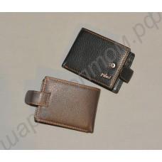 Мужской кожаный кошелёк. Модель 004.