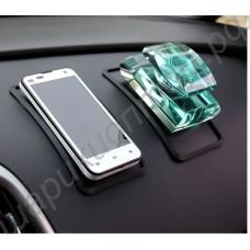 Антискользящий силиконовый коврик для телефонов на приборную панель автомобиля