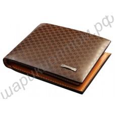 Мужской кожаный кошелёк. Модель 003.