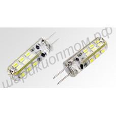 Светодиодная (LED) лампа G4, 2 Вт, 12 В, тёплый свет