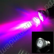 Фитолампа LED 6Вт 220В