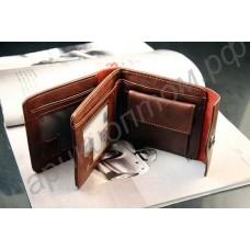 Мужской кожаный кошелёк. Модель 014.