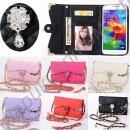 Модная сумочка-кошелёк с отделением для смартфона. Модель 017
