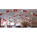 Арки, гирлянды, фигуры, панно из воздушных шаров, наполненных гелием