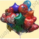 Фольгированные шары, наполненные гелием, с доставкой