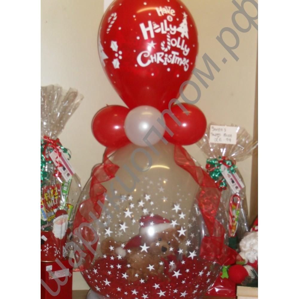 Фото подарок на шариках 497